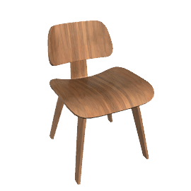 Eames® Molded Plywood Dining Chair, DCW