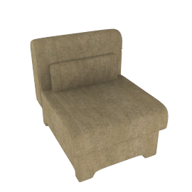 Bolero Chair Bed, Oatmeal