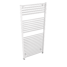 Heated Towel Rail 1652 x 750, gloss white