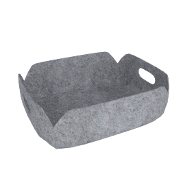 Restore Small Basket, Grey
