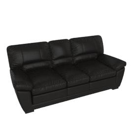 Sperry 3 Seater, Black