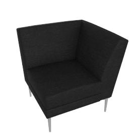 Libre Corner Component - Ultrasuede®
