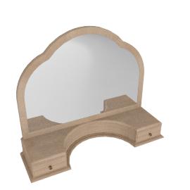 Etienne Gallery Mirror, Oak