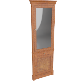 Hemingway Corner Display Cabinet