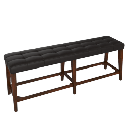 Delvin Bench -Brown