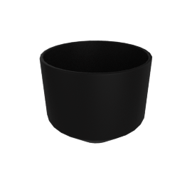 Monstruosus Planter, Model 3 Large, Black