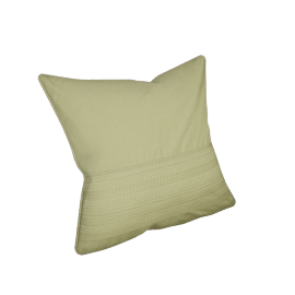Eternity Cushion Cover - 65x65 cms, Green