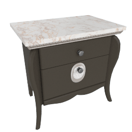 Dorian 2-Drawer Night Stand