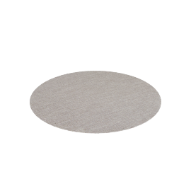 Chilewich Boucle Round Floor Mat, Salt