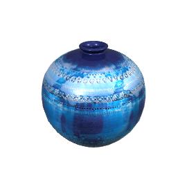 43 Ball Vase - Blue