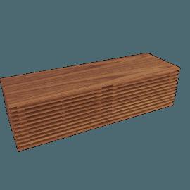 Line Media Console 55, Walnut