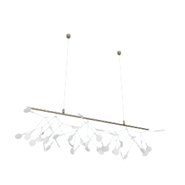Heracleum Endless Pendant, Nickel
