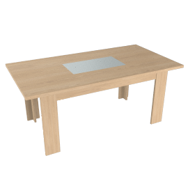 Strata Dining Table, Maple