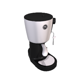 Saeco A Modo Mio Lavazza Piccina Coffee Maker, White