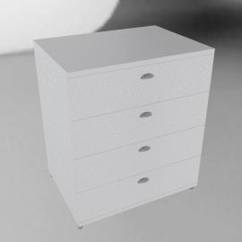 Atlas Wide 4 Drawer Dresser