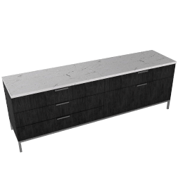 Florence Knoll Credenza - Four Position