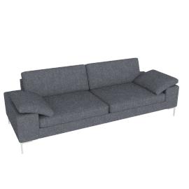 Arena Sofa, Pebble Weave, Pumice