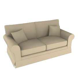 Padstow Large Sofa, Beige