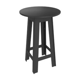 Fresh Air Bar-Height Table, Slate