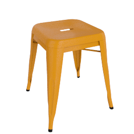 2 x Legend Café Stools, Orange