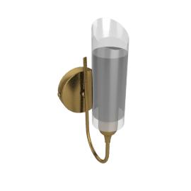 Limbo Wall Light, Antiqued Brass