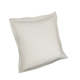Indulgence 2-piece Cushion Cover Set - 45x45 cms, Cream