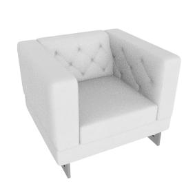 Lasky Armchair White