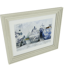 Ginger Jar Framed Picture - 58x3x48 cms