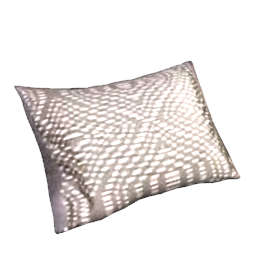 Lugano Boudoir Pillowcase, Peat