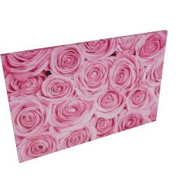 Roses Wall Art - 60x2.5x90 cms