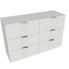 Bianca 6-Drawer Dresser