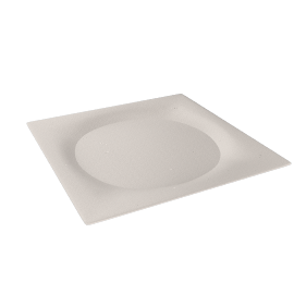 Wedgwood, Ethereal 101, Square Plate, 28cm