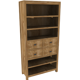 Batamba Wide Bookcase