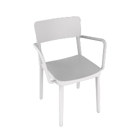 Lisboa Armchair - White