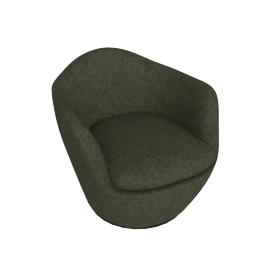 Lina Swivel Chair, Pecora - Hunter