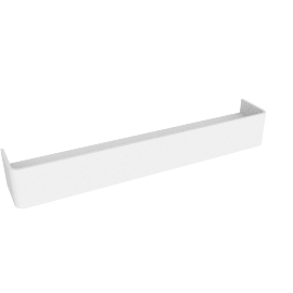 Esme floating shelf, white