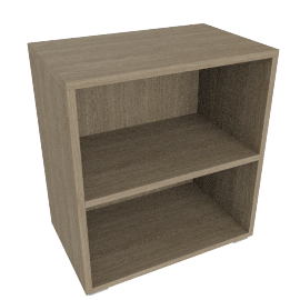 Match Shelf Unit, Grey Ash