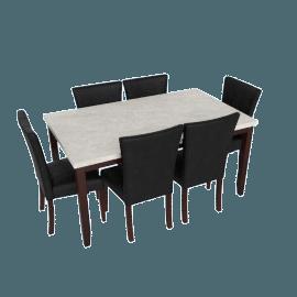 Audrey 7-Piece Dining Set