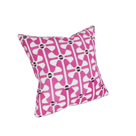 Windmill Cushion Cover, Pink