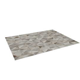 Diamond Cowhide Rug 9x12