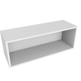 Match 60cm Open Shelf Unit, White
