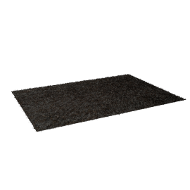 Adorn Shaggy Rug - 200x290 cms, Brown