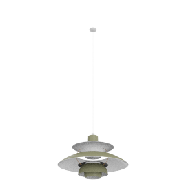 PH5 Pendant Lamp, Army/Dark Grey