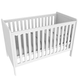 Little Darling'S Convertible Cot Bed 70X140