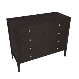 Hotel 4 Drawer Chest