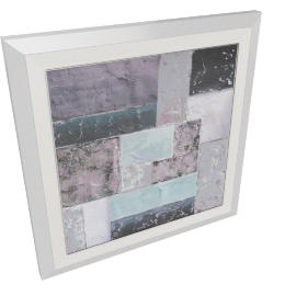 Abstratic Framed Prints with Gel Coat - 60x3.8x60