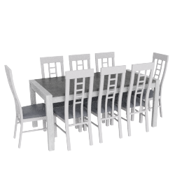 Malone 9-Piece Dining Table and Chair Set