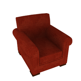 Ashley Chair, Red
