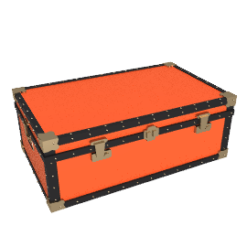 Traditional Storer Trunk, Red