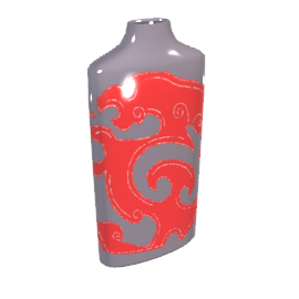 Red Dragon Vase